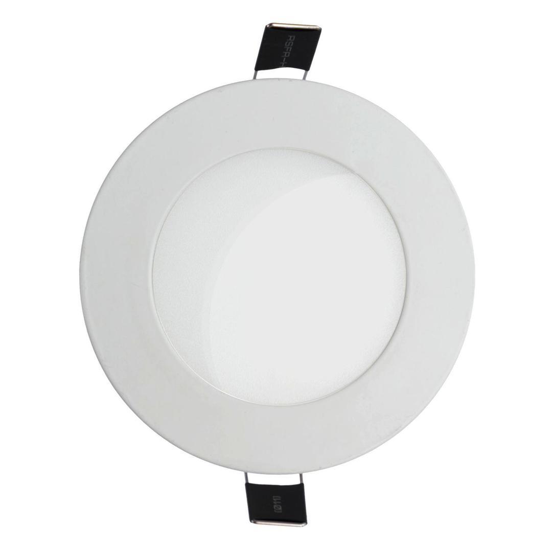 Algine Eco Ii LED Round 230 V 18 W Ip20 Ww Zapuštěné svítidlo