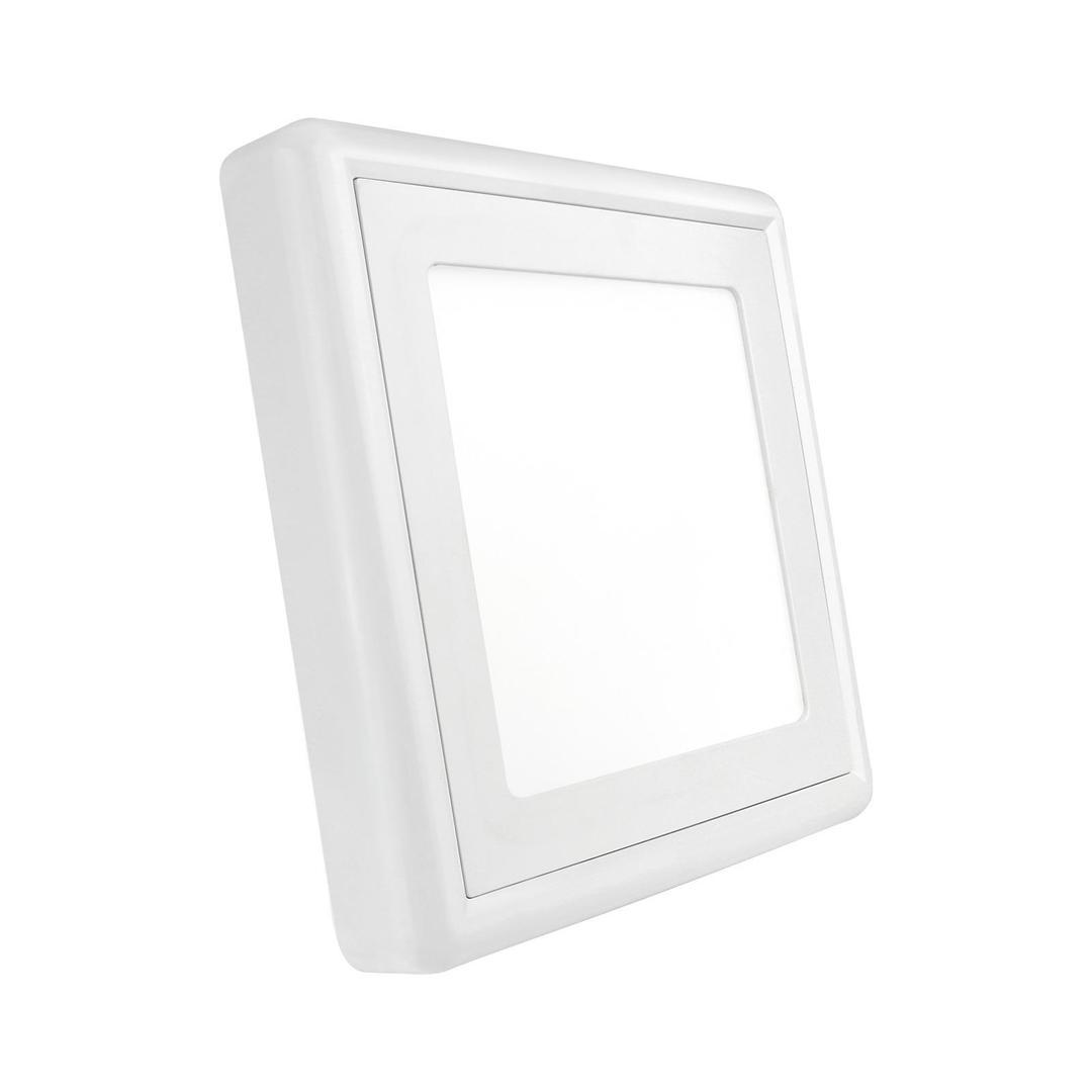 Algine Eco Ii Led Square 230 V 6 W Ip20 Cw Povrchová montáž