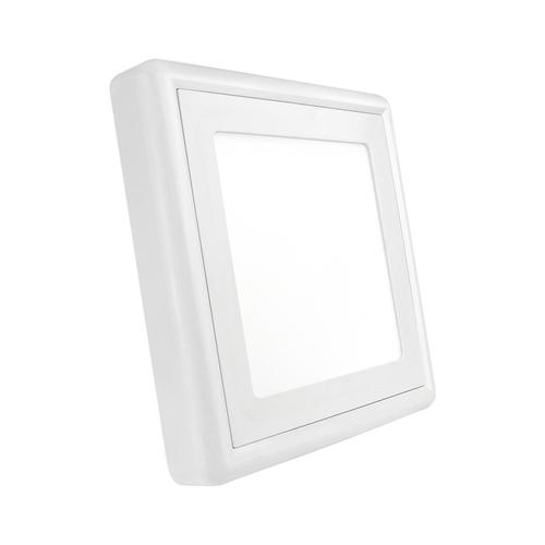 Algine Eco Ii Led Square 230 V 12 W Ip20 Cw Povrchová montáž