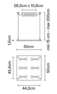 Závěsná lampa Fabbian Sospesa D42A01 00 small 5