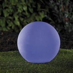 Solární zahradní míč a USB 34cm LED barva, vodotěsná small 5