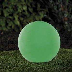 Solární zahradní míč a USB 34cm LED barva, vodotěsná small 6