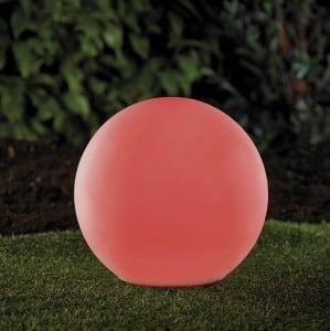 Solární zahradní míč a USB 34cm LED barva, vodotěsná small 7