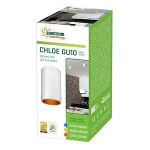 Chloe Gu10 Ip20 Tube White GOLD Upravené oko small 2