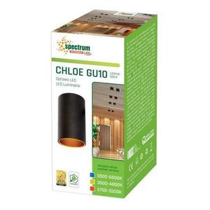 Trubka Chloe Gu10 Ip20 Tube Black Gold Eyelet Není regulována small 2