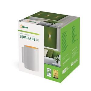 Trubka Squalla G9 Ip20 bílá a zlatá small 2