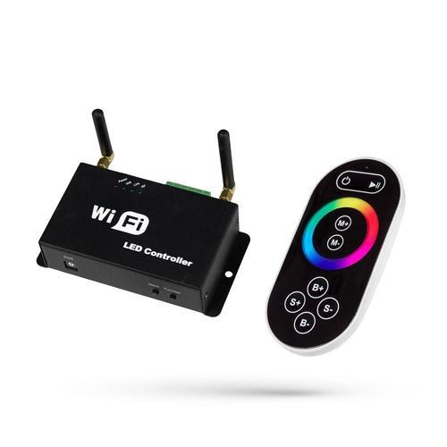 Řadič Rgb Play Mini Ii Wifi s dálkovým ovládáním pro LED pásky / pro LED pásky 5 24 V DC 3 X4 A