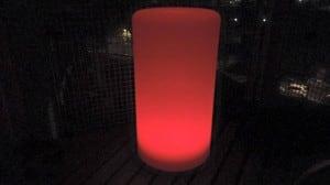 Vodotěsná sloupová solární LED lampa s vícebarevnou funkcí pro zahradu (45 cm) \ t small 2