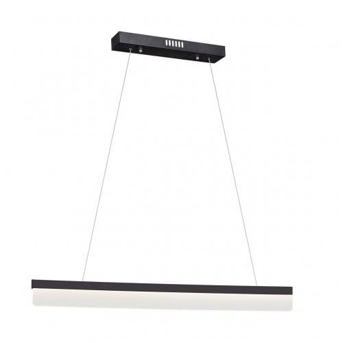 Nowoczesna Czarna Lampa wisząca Milagro BEAM 400 18W 1260 lm 1