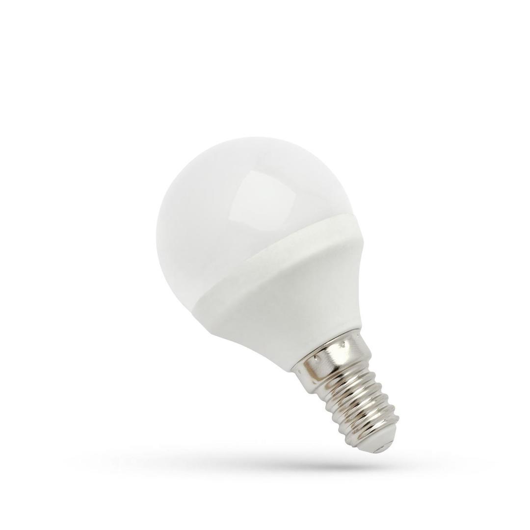 LED koule E14 230 V 6 W Cw Spektrum