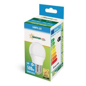 LED koule E27 230 V 6 W Cw Spektrum + small 2