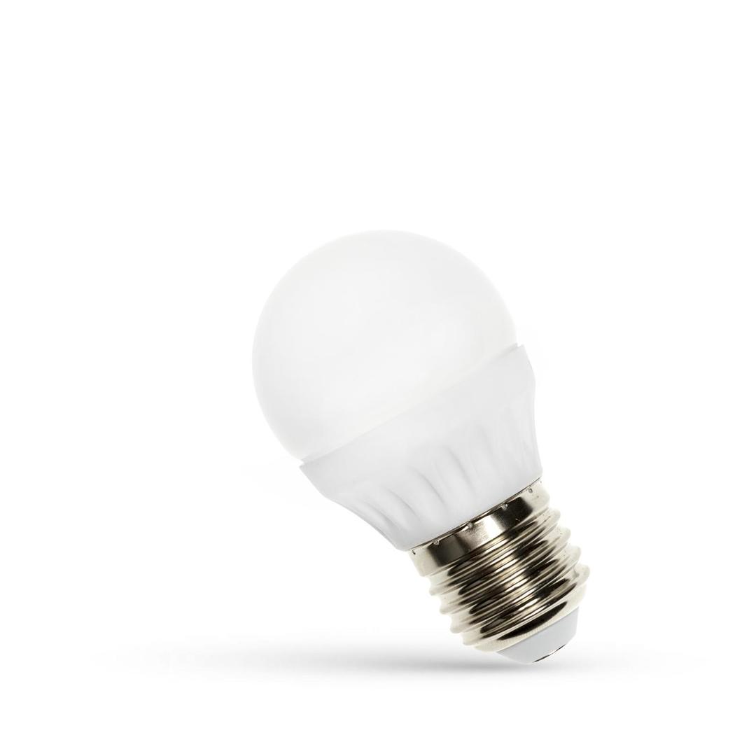 LED koule E27 230 V 6 W Cw Spektrum +