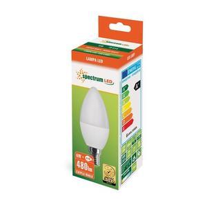 LED svíčka E14 230 V 6 W Ww Spektrum small 2