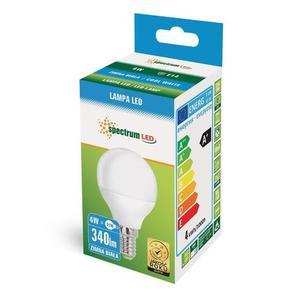 LED koule E14 230 V 4 W Cw Spektrum + small 2