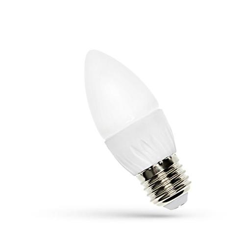 LED svíčka E27 230 V 4 W Cw Spektrum