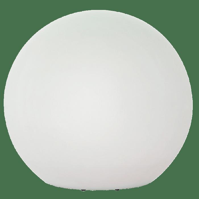 Světlá zahradní koule o průměru 77 cm, 230V 23W