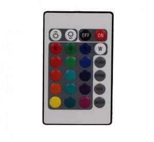 Velká barevná kulička měnící barvu s dálkovým ovládáním o průměru 77 cm, 1x3W LED RGB small 7