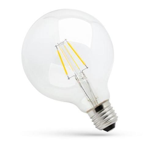 Led Glob G125 E 27 230 V 8 W Cog Nw Clear Spectrum