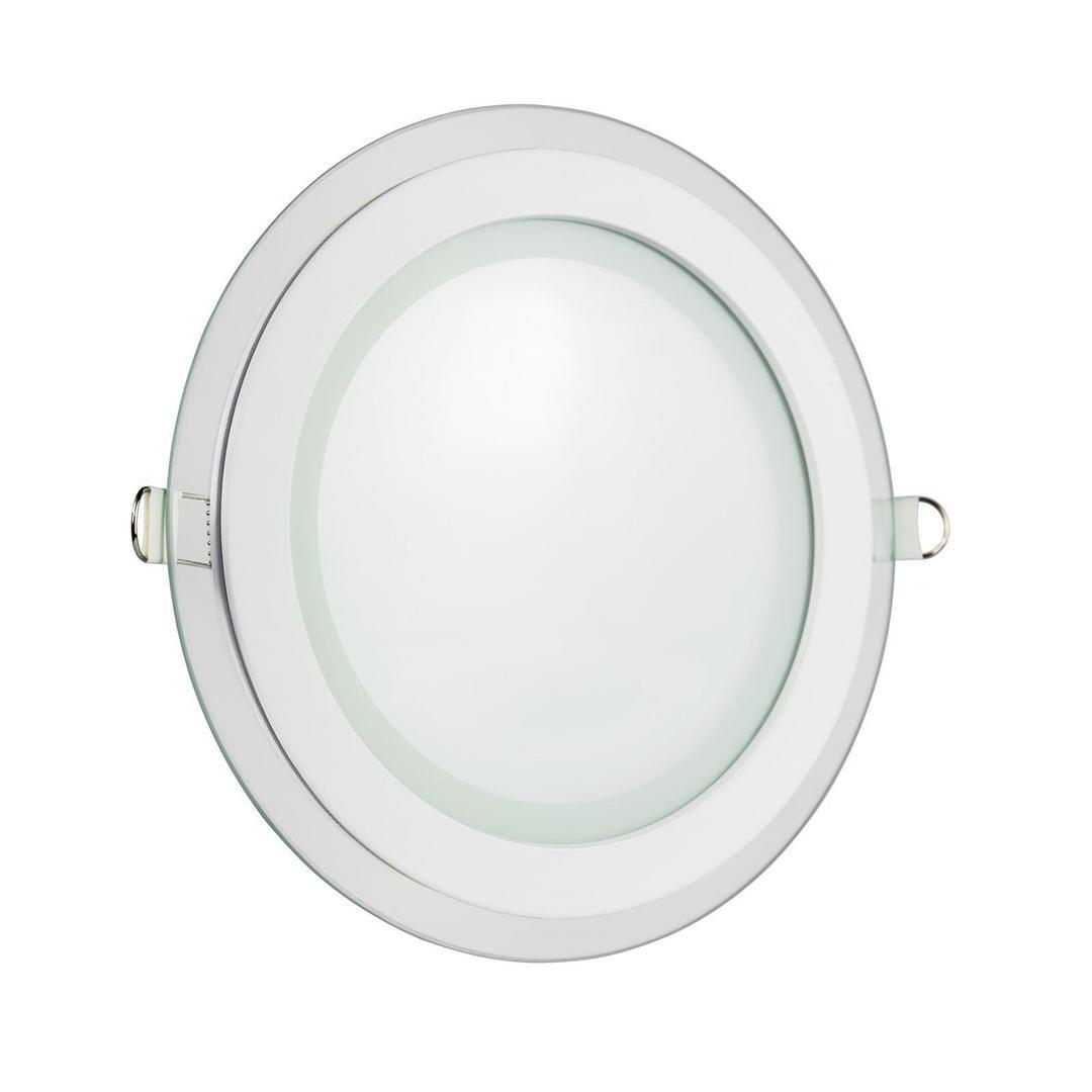 Vodiče Eco Led kulaté 230 V 6 W Ip20 Cw stropní skleněné oko