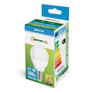 LED koule E14 230 V 8 W Cw Spektrum small 2