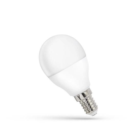 LED koule E14 230 V 8 W Cw Spektrum
