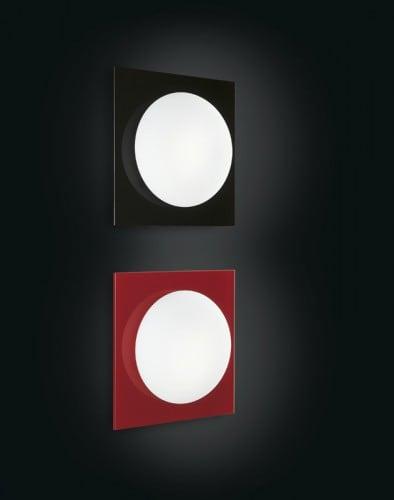 Nástěnná svítidla Murano Due (Leucos) Mini Gio černá / bílá 40W G9