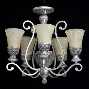 Závěsná lampa Bologna Country 5 Silver - 254013605 small 2