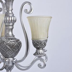 Závěsná lampa Bologna Country 5 Silver - 254013605 small 5