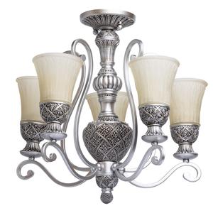 Závěsná lampa Bologna Country 5 Silver - 254013605 small 0