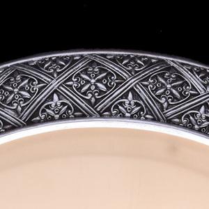 Bologna Country 4 Silver závěsná lampa - 254015304 small 4