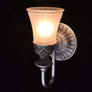 Nástěnná lampa Bologna Country 1 Silver - 254021201 small 1