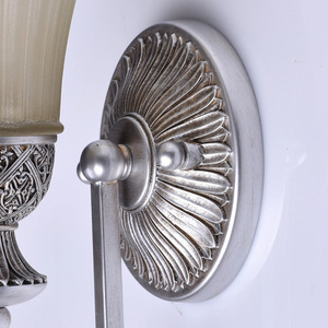 Nástěnná lampa Bologna Country 1 Silver - 254021201 small 2