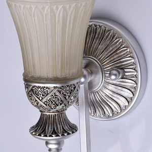 Nástěnná lampa Bologna Country 1 Silver - 254021201 small 3