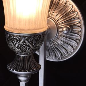 Nástěnná lampa Bologna Country 1 Silver - 254021201 small 4