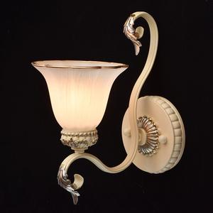 Bologna Country 1 Béžová nástěnná lampa - 254024201 small 1