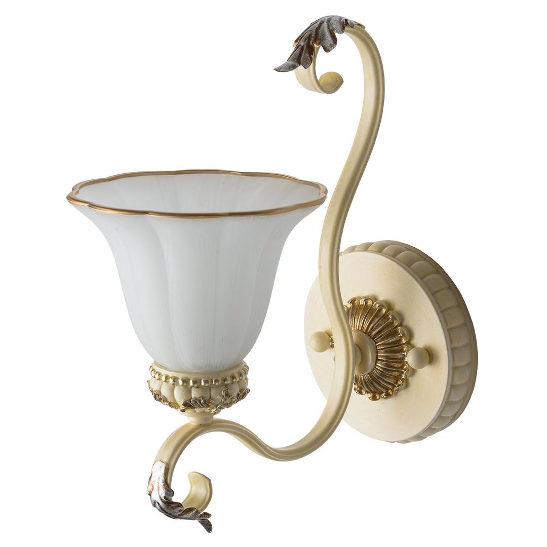 Bologna Country 1 Béžová nástěnná lampa - 254024201
