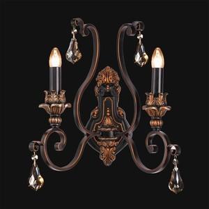 Nástěnná lampa Bologna Country 2 Black - 254028502 small 1