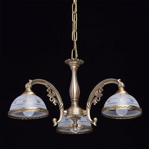 Závěsná lampa Amanda Classic 3 Mosaz - 295010903 small 1