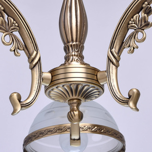 Závěsná lampa Amanda Classic 3 Mosaz - 295010903 small 8