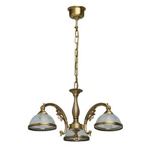 Závěsná lampa Amanda Classic 3 Mosaz - 295010903 small 0