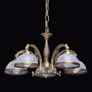 Závěsná lampa Amanda Classic 5 Mosaz - 295011005 small 1