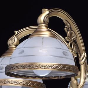 Závěsná lampa Amanda Classic 5 Mosaz - 295011005 small 3