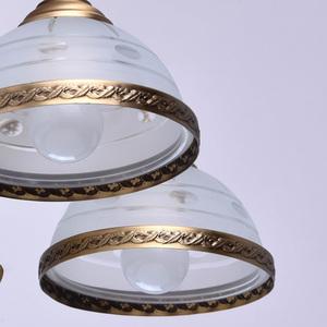 Závěsná lampa Amanda Classic 5 Mosaz - 295011005 small 5