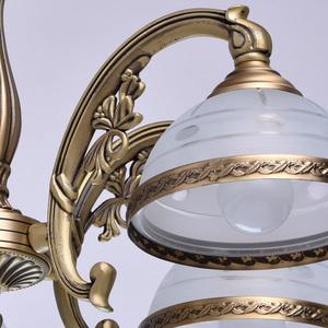 Závěsná lampa Amanda Classic 5 Mosaz - 295011005 small 6