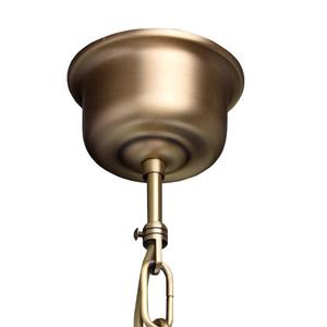 Závěsná lampa Amanda Classic 5 Mosaz - 295011005 small 11