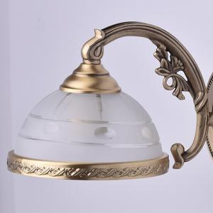 Nástěnná lampa Amanda Classic 1 Mosaz - 295021201 small 3