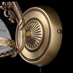 Nástěnná lampa Amanda Classic 1 Mosaz - 295021201 small 5