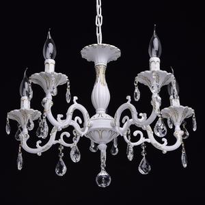 Lustrová svíčka Classic 5 bílá - 301014605 small 1