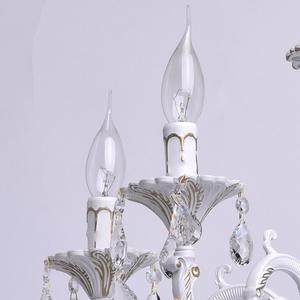 Lustrová svíčka Classic 5 bílá - 301014605 small 3