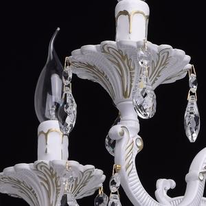Lustrová svíčka Classic 5 bílá - 301014605 small 5